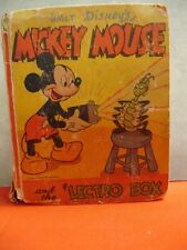 1946 MICKEY MOUSE and the Lectro Box #1413 Better Little Book HB024