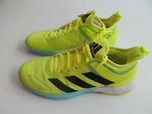 Adidas Adizero Ubersonic 4 Tennis FX1365  man yellow shoes  Brand  New