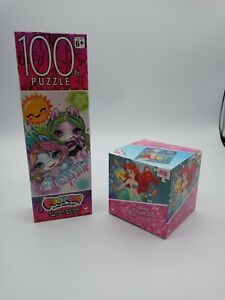 Poopsie Slime Surprise and Disney Princess Ariel Puzzles New Lot 2