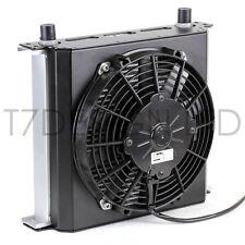 235mm 34 Row Oil Cooler Fan Shroud Kit Push Fan - Engine, Transmission, Gearbox