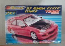Revell 1:25 93 Honda Civic Coupe 2 'n 1 Tuner Series SEALED BOX NEW. USA. RARE