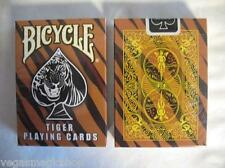 Tiger Deck Bicycle Playing Cards Poker Size USPCC Custom Limited Edition Sealed