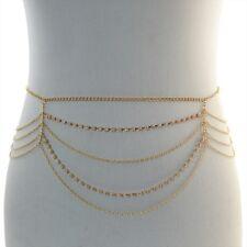 Fashion Bikini Waist Belly Tassels Body Chain Summer Body Chain Jewelry