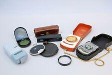 Zeiss Ikon Accessories - Rangefinder, Ikophot meters, Ikoblitz, Diaphot & Filter