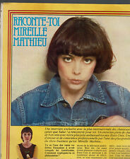 MIREILLE MATHIEU 2 PAGES  1977 / CLIPPING PRESS