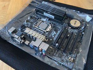 asus z97M Plus With i7 4790k And 16gb DDR3 Ram