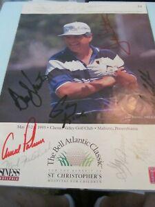 1993 BELL ATLANTIC-SIGNED BY PALMER, BREWER, FINSTERWALD, ELDER, CRAMPTON ETC
