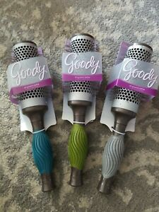"""NEW Wholesale lot 24pc GOODY Easy Grip Styling Blowdry Brush Ion  1 1/2"""""""