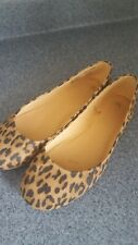 Leopard flats ~ size 7.5  perfect condition!
