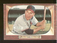 Solly Hemus of the St Louis Cards on a 1955 Bowman card #107 VG/EX condition