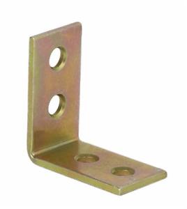 Corner Bracket KW1 30x30x17x2mm Right Angle Brace Support L Shape Galvanised