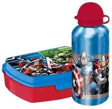 Marvel Avengers Aluflasche Brotdose Brotbüchse Kinder