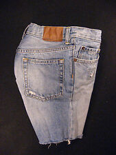 GAP Kids 1969 CUTOFF JEANS SHORTS Cut Off W 24 MEASURED Daisy Dukes Low Rise