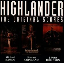 Highlander: The Original Scores -  CD M6VG The Fast Free Shipping