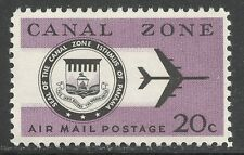 U.S. Possession Canal Zone Air Mail stamp scott c45 - 20 cent 1965 issue mnh #2