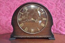 Art Deco Vintage 'Smiths's 4 joyas Mantel Clock de 8 días