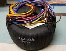 CE6136/2 Toroidal Transformer CE 6136/2 Universal Instruments 156742 M3 **NEW**