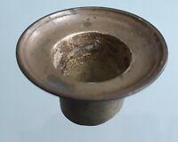 Ancien bronze ameublement bobèche/coupelle chandelier/ bougeoir/lustre XIX ème