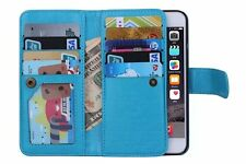 NEW LUXURY LEATHER DETACHABLE WALLET FLIP CASE FOR APPLE IPHONE 6 6S Plus 5.5""