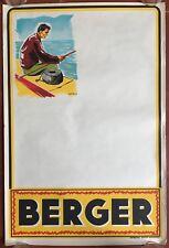Poster Shepherd Fishing Fisherman bar Pub