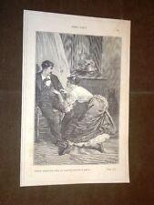"""Illustrazione Teresa Raquin di Émile Zola """"Tesera imitava il gatto..."""""""