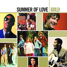 Summer of Love: Gold [Remaster] by Various Artists (CD, Jul-2007, 2 Discs,...