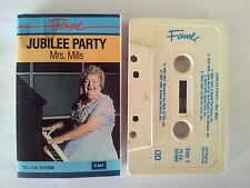 MRS MILLS PARTY JUBILEE PARTY FAME LABEL AUSTRALIAN RELEASE CASSETTE TAPE