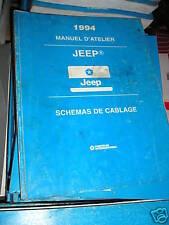 CHRYSLER jeep 1994 : Schémas électriques