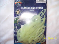 Glow-In-Dark Plastic Wall Ceiling Stars Planets Moons