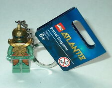 KEY CHAIN Lego Atlantis Portal Emperor  NEW with Tags Genuine Lego 852907