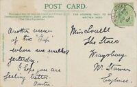 "GB VILLAGE POSTMARKS ""KILLARNEY"" (Kerry, Ireland) CDS 24mm 1909 pc superb strike"