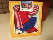 Vintage Effanbee 1982 Bobbsey Twins Winter Wonderland Flossie Outfit New Box