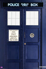 DOCTOR WHO: New 11th Doctor's TARDIS - Large 24x36 BBC TV Show Poster (5597)