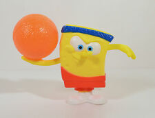 "2012 Basketball Spongebob 3"" McDonalds Kids Meal #3 Sports Action Figure Toy"