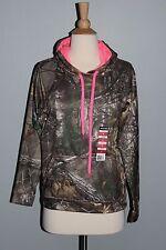 NEW Realtree Camo & Pink Hoodie Ladies Hooded Sweatshirt Sizes S M L XL Hunting