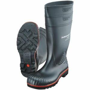 Dunlop Sicherheits-Gummistiefel Acifort Heavy Duty S5 schwarz Größe 43
