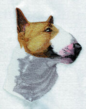 Large Embroidered Zippered Tote - Bull Terrier Bt7059