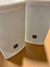 Pair of JBL AC16-WH 2-Way Loudspeakers