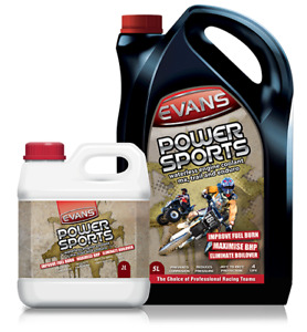 EVANS Power Sports Waterless Engine Coolant 2L Litres MX Trail Enduro Race Bike