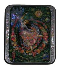 Kholui Russian Lacquer Box Waltz of the Flowers (From The Nutcracker)