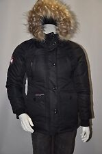 Canada Weathergear Triple Goose Water Resistant Shell Parka Jacket Coat Size S