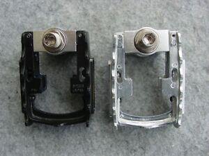 MKS  Faltpedal FD-7 Klapppedal Aluminium 9/16 silber oder schwarz