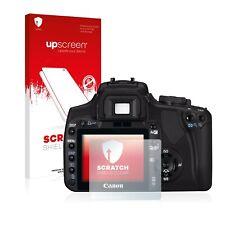 Canon EOS 400D Displayschutz Folie Kratzfest Antikratz klar