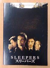 Sleepers Pamphlet Original Japan Movie Program 1996 Robert De Niro Brad Pitt