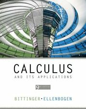 Calculus and Its Applications (9th Edition) by Marvin L. Bittinger, David J. Ell