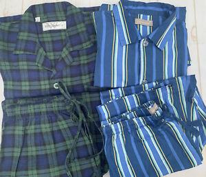 🤍MENS PETER ALEXANDER + WHITMONT Long Sleeve/Leg Pyjamas   Size M