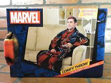 DEADPOOL Comfy Throw Snuggie Blanket With Sleeves NEW Marvel Comics