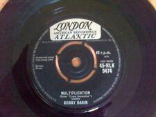 Bobby Darin - Multiplication - Vinyl Single