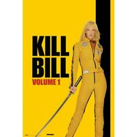 Kill Bill Poster Volume 1 Uma Thurman 61 x 91,5 cm Plakat Wandbild Filmplakat