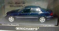 Minichamps 430038027, Mercedes-Benz CL, 1999, dunkelblau, 1/43, NEU&OVP